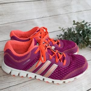 ADIDIAS Purple ClimaCool Running Shoes Sneakers 6